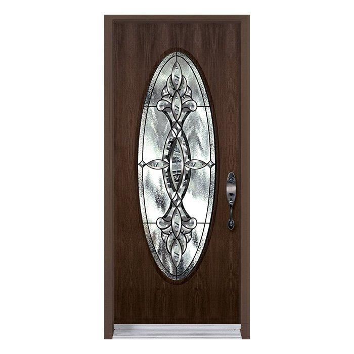 Kitimat Door Full Oval