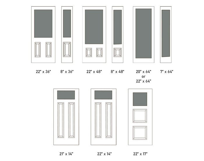 Perimeter Grill size options