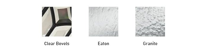 Avant glass texture options