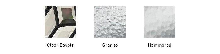 Bristol glass texture options
