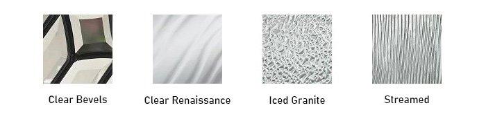 Impressions glass texture options