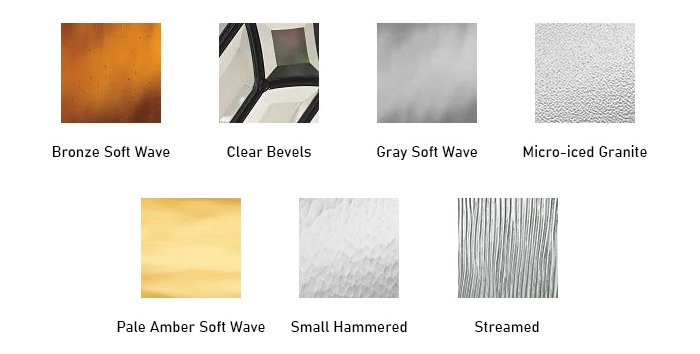 Mohave glass texture options