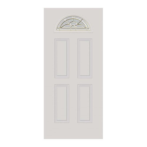 Nouveau Door Half Moon