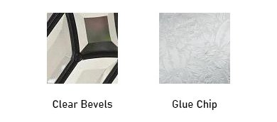 Nouveau glass texture options