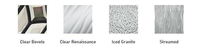 Renewed Impressions glass texture options