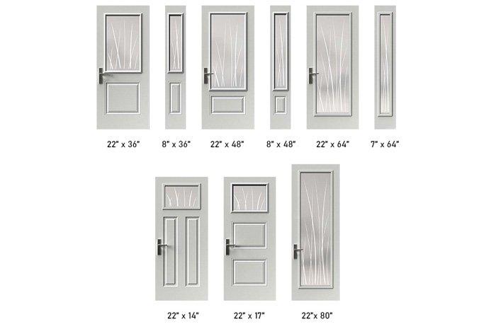 Emori glass size options