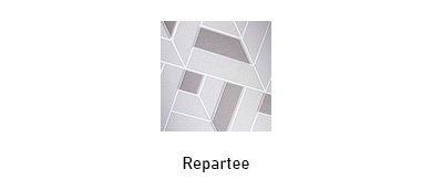 Repartee glass texture options