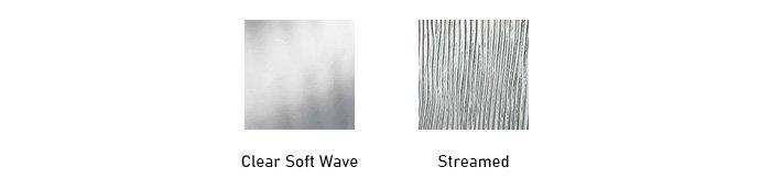 Waterside glass texture options