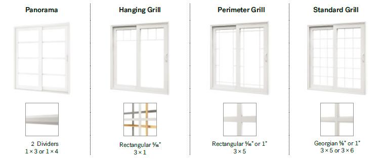 550 Welded PVC Patio Door
