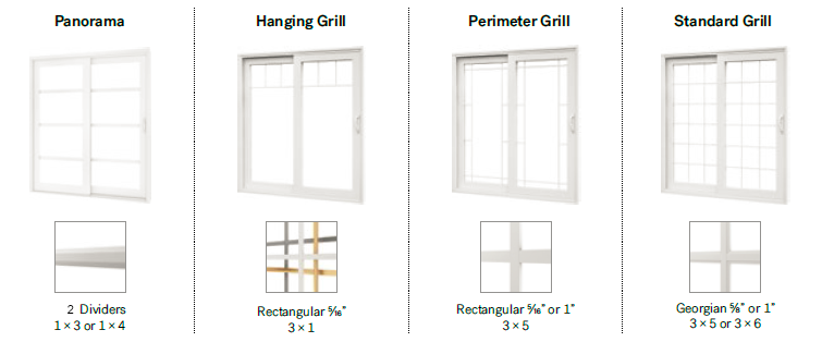 Imagine Welded PVC Patio Door