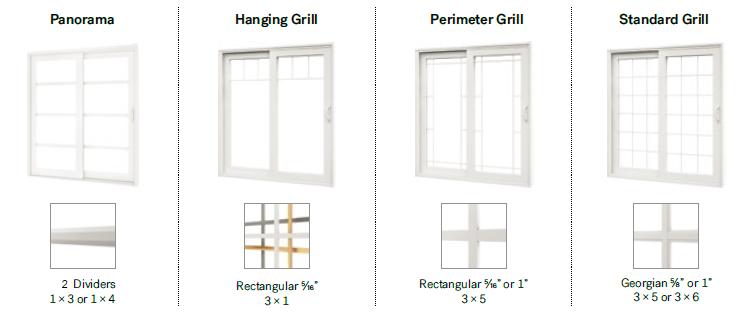 370 PVC Patio Door
