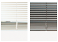 Mini-blinds for patio doors