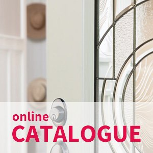 Door glass inserts online catalogue in Canada